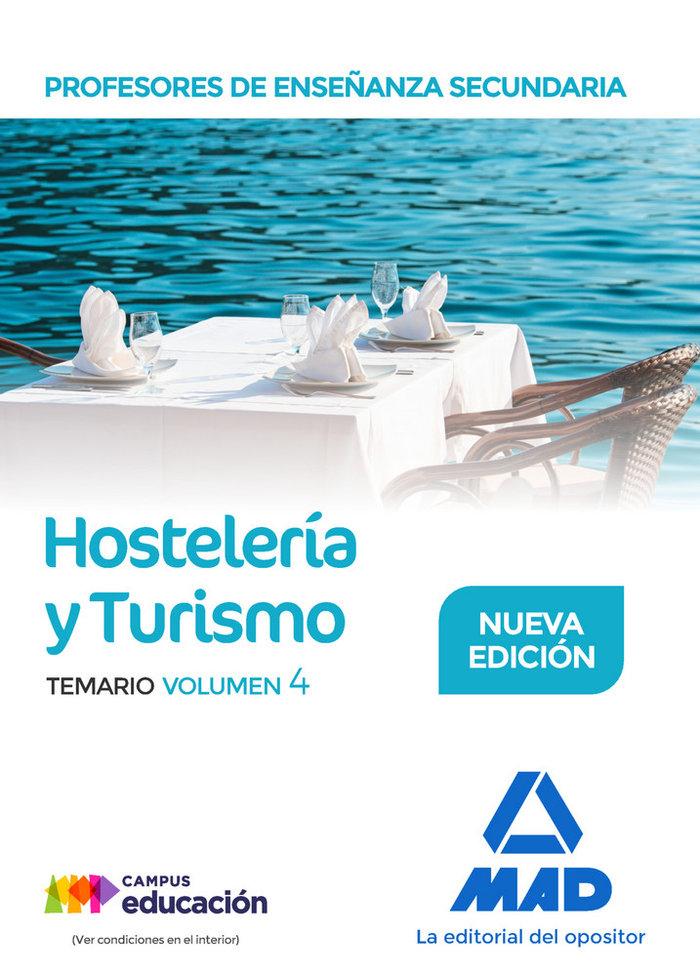 Profesor enseñanza secundaria hosteleria y turismo vol 4