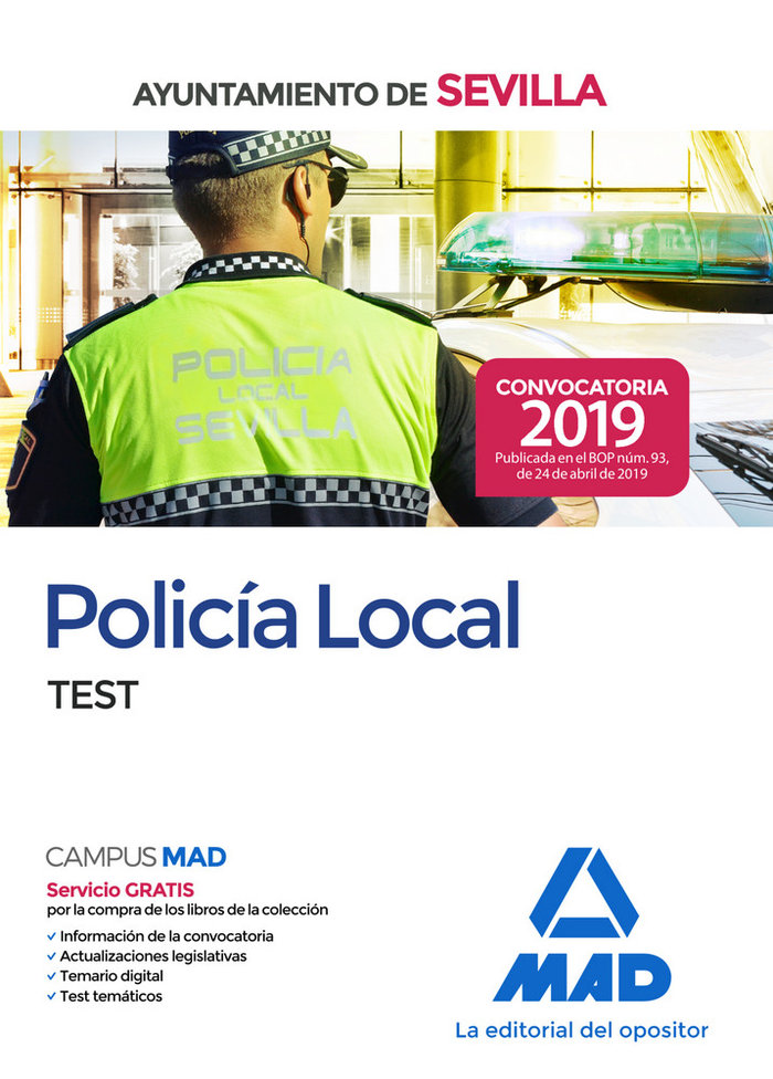 Policia local del ayuntamiento de sevilla test