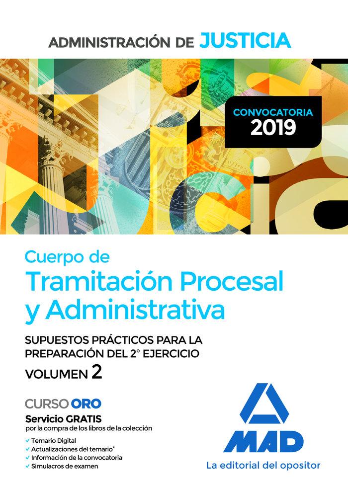 Cuerpo tramitacion procesal y administrativa adminis vol 2