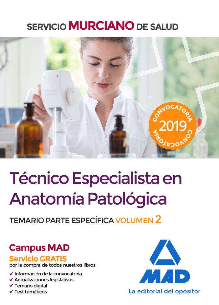 Tecnico especialista anatomia patologica murcia vol 2