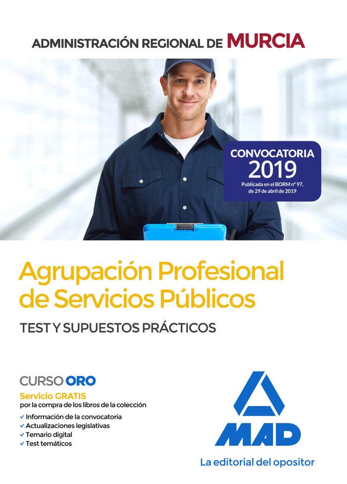 Agrupacion profesional servicio publico administracion murc