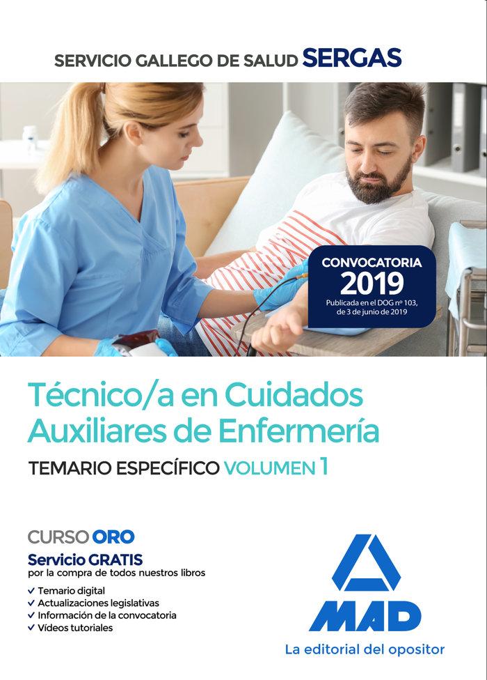 Tecnico/a cuidado auxiliar enfermeria servicio gallego 1