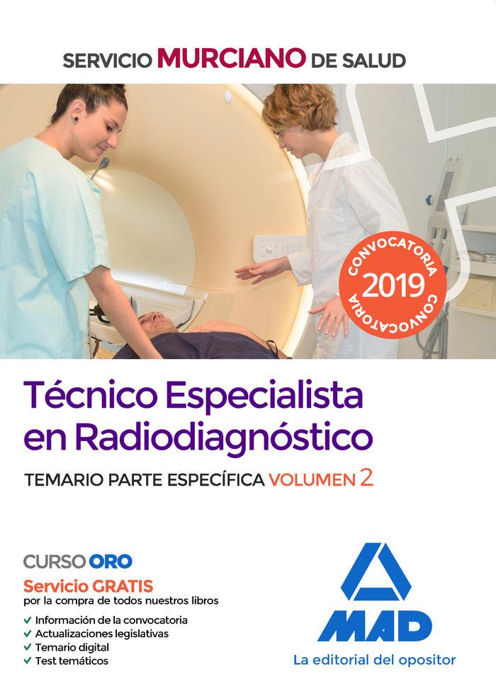 Tecnico especialista radiodiagnostico servicio murciano 2