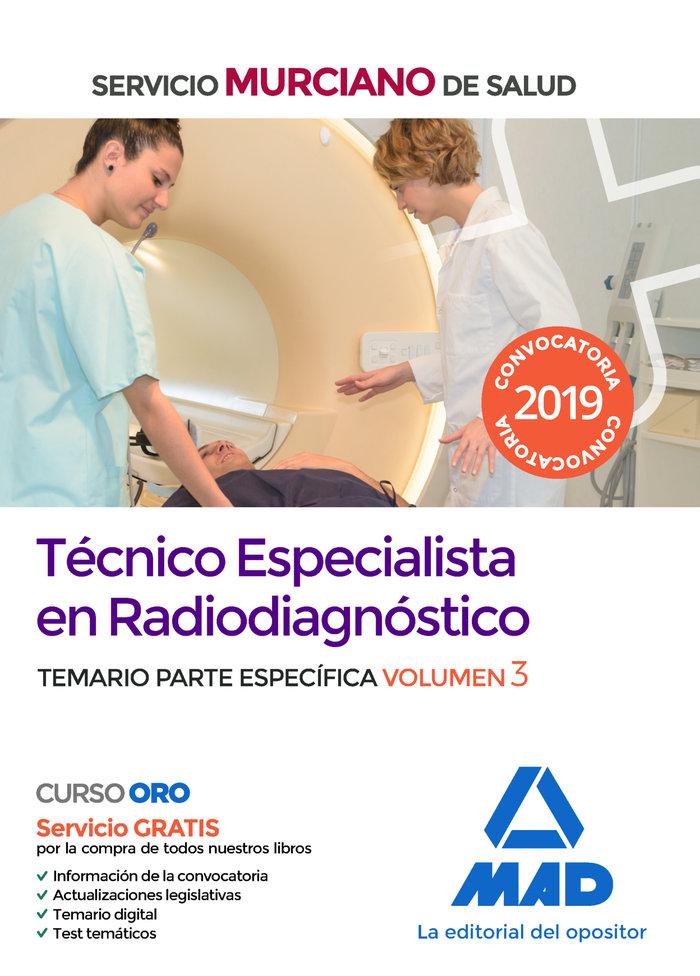 Tecnico especialista radiodiagnostico servicio murciano 3