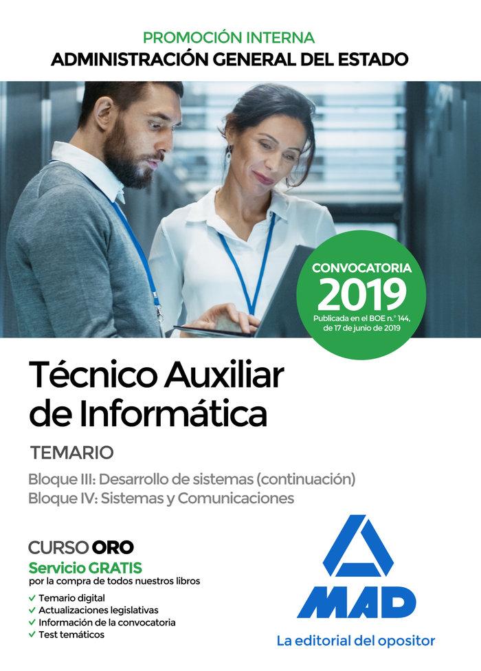 Tecnico auxiliar informatica administracion general 3 4