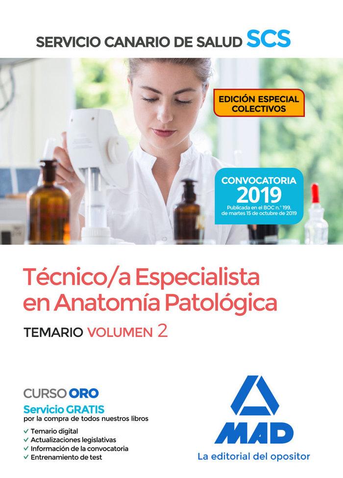 Tecnica/o especialista en anatomia patologica del servicio c