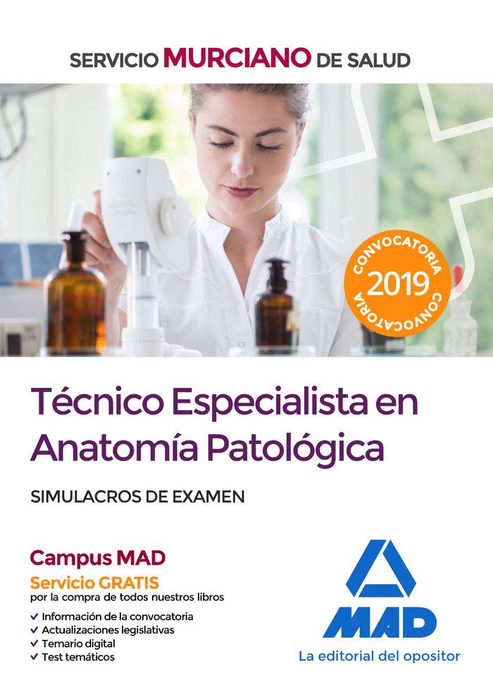 Tecnico especialista anatomia patologica servicio murciano