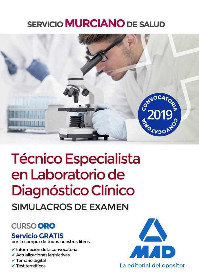 Tecnico especialista laboratorio diagnostico clinico simula
