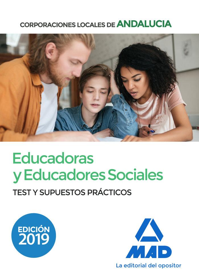 Educadora y educador social corporacion local test supuesto