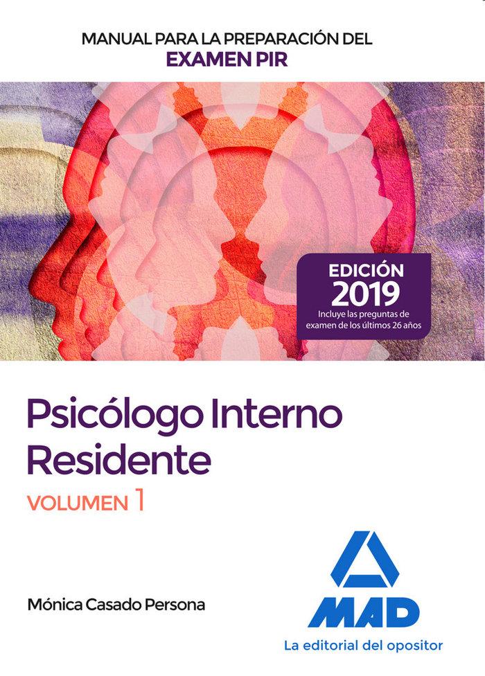 Psicologo interno residente manual preparacion examen vol 1