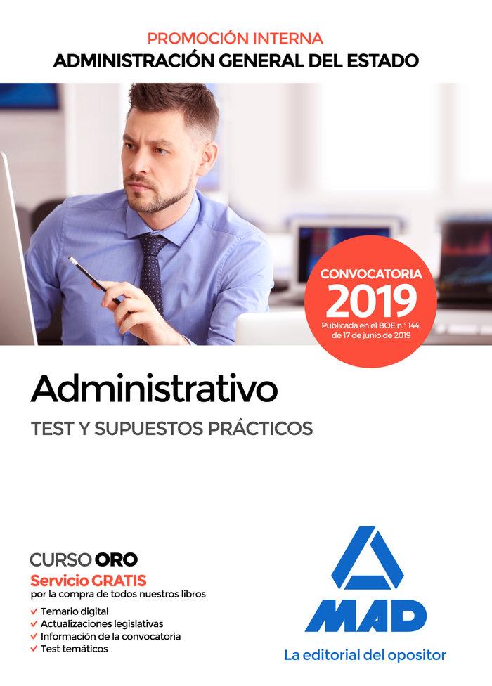 Administrativo estado test supuestos practicos 2019