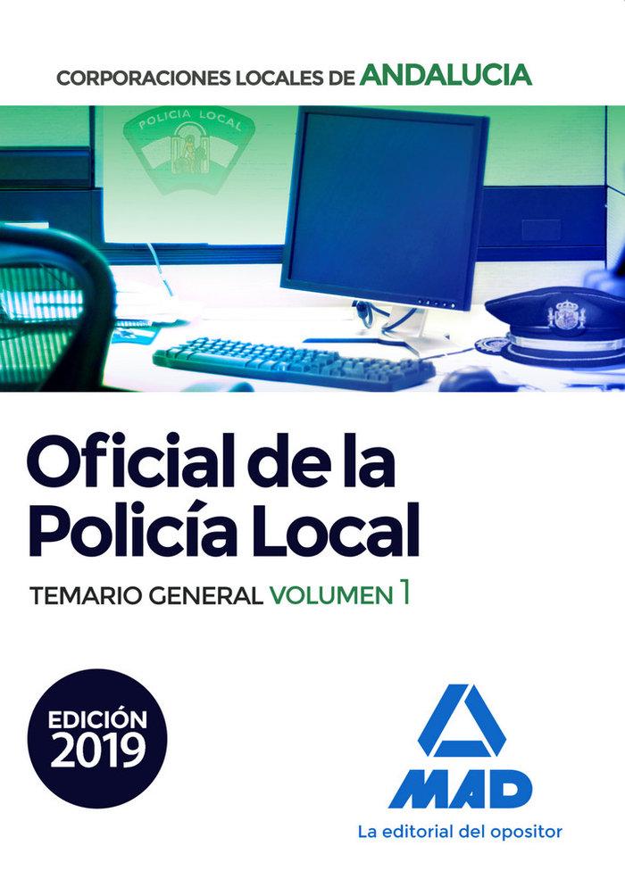 Oficial policia local vol 1 andalucia