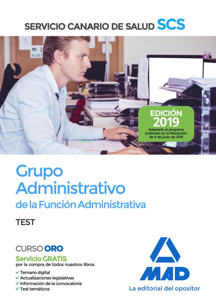 Grupo administrativo funcion administrativa canarias test