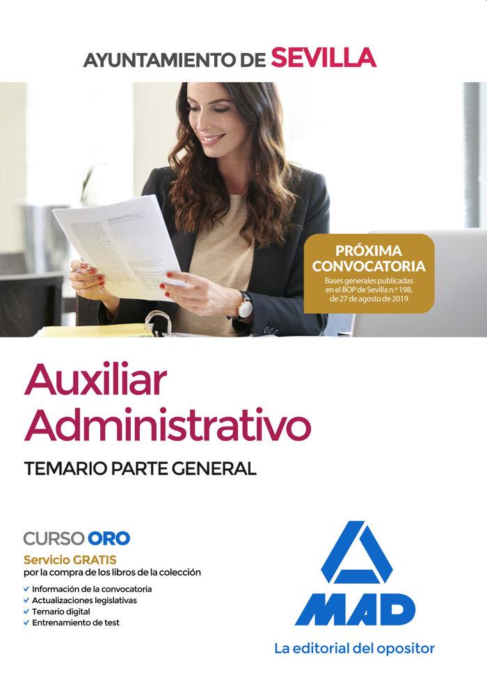 Auxiliar administrativo ayuntamiento sevilla temario genera