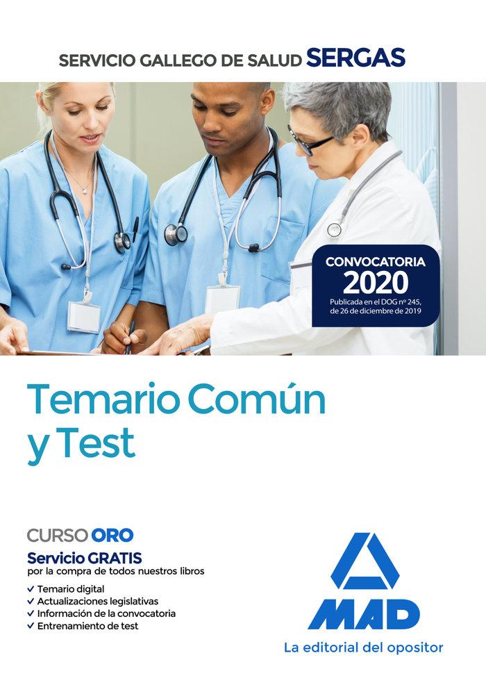 Servicio gallego salud temario comun y