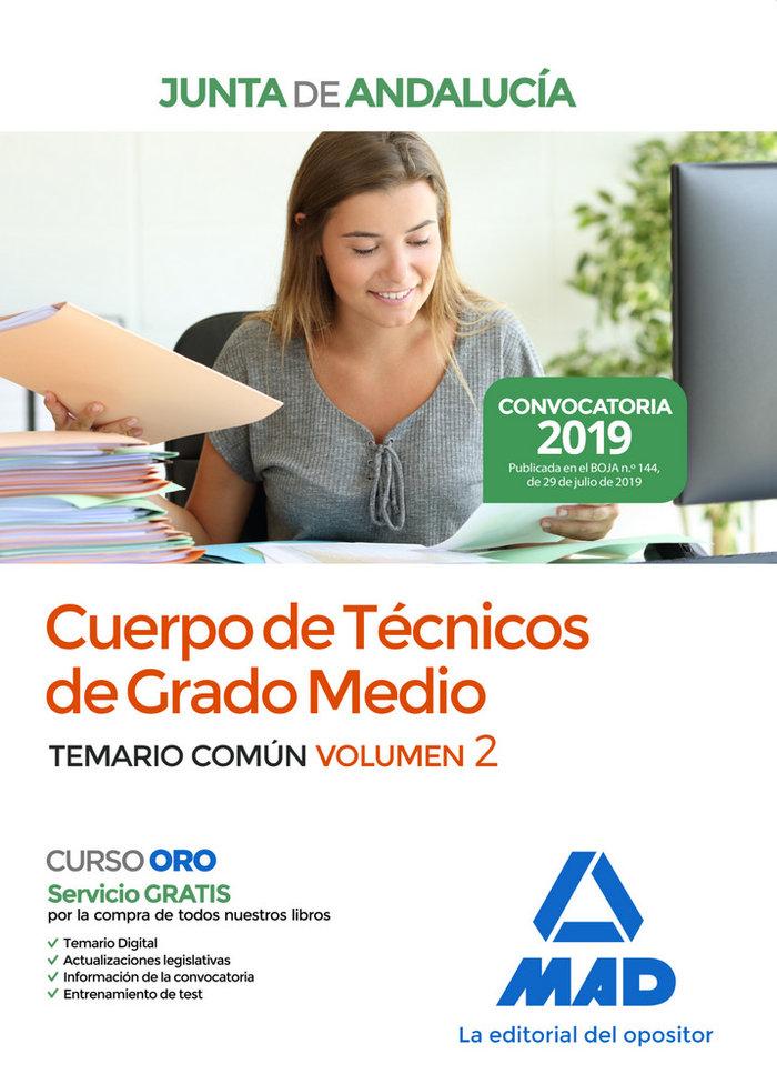 Cuerpo tecnico grado medio junta andalucia vol 2 2019