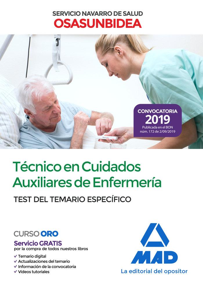 Tecnico en cuidados auxiliares de enfermeria test