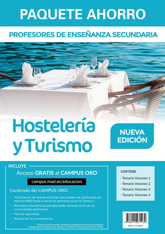 Paquete ahorro profesores secundaria hosteleria y turismo