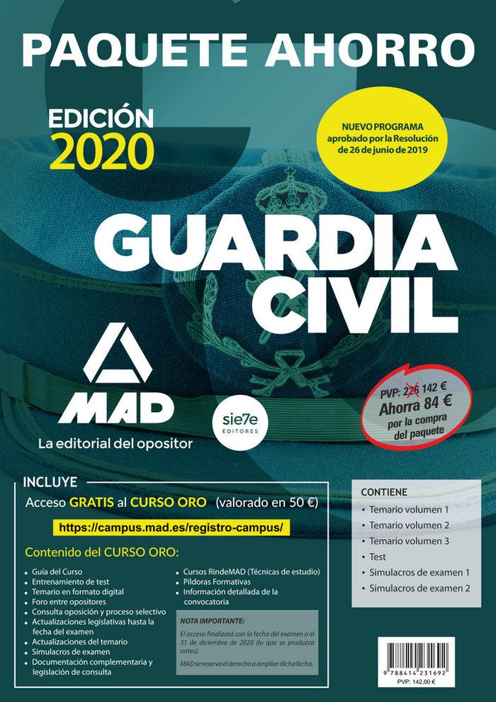 Paquete ahorro guardia civil
