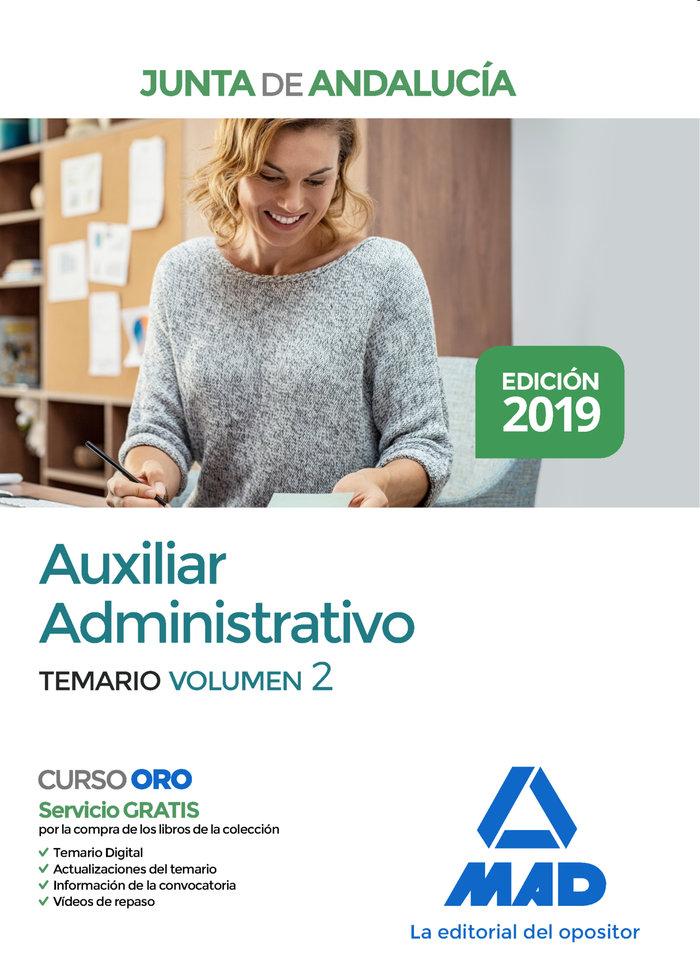 Auxiliar administrativo junta andalucia vol 2