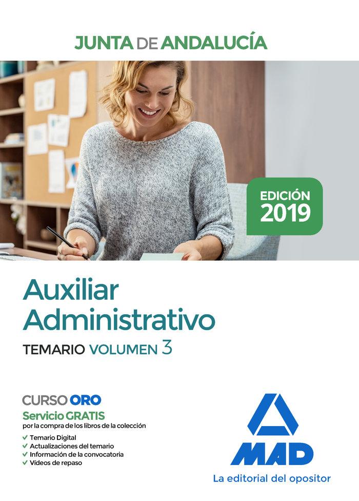 Auxiliar administrativo junta andalucia temario 3