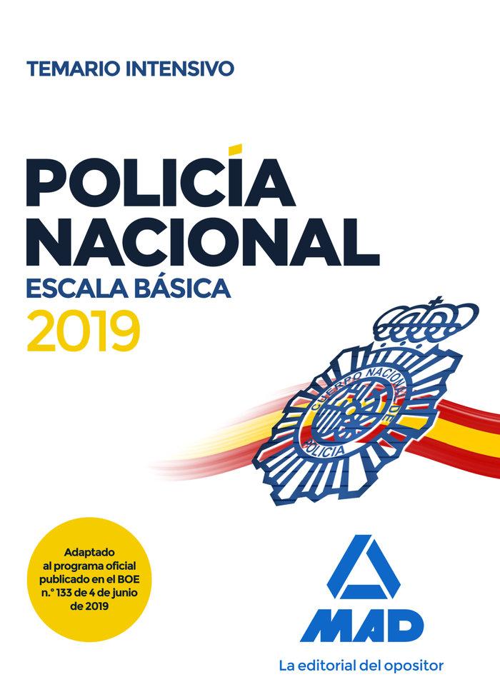 Policia nacional escala basica temario intensivo