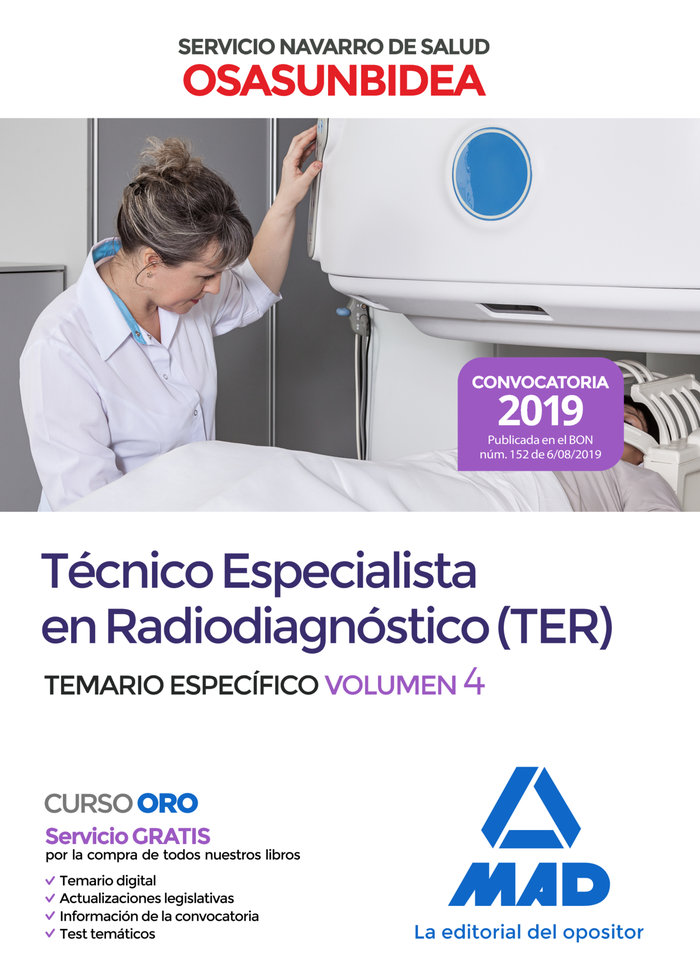 Tecnico especialista radiodiagnostico osasunbidea 4