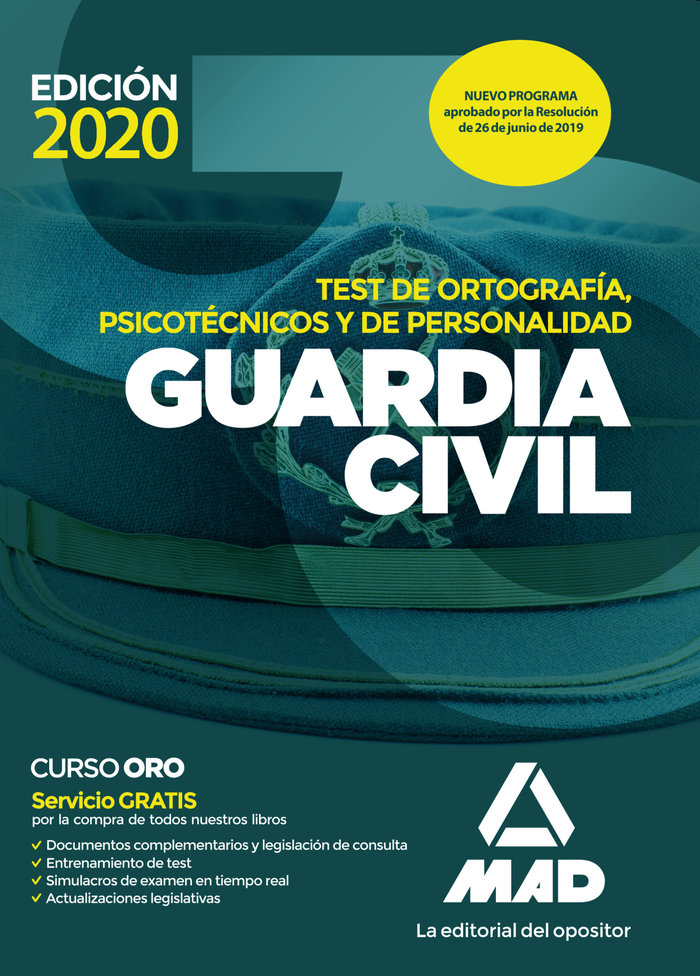 Guardia civil test ortografia piscotecnicos y personalidad