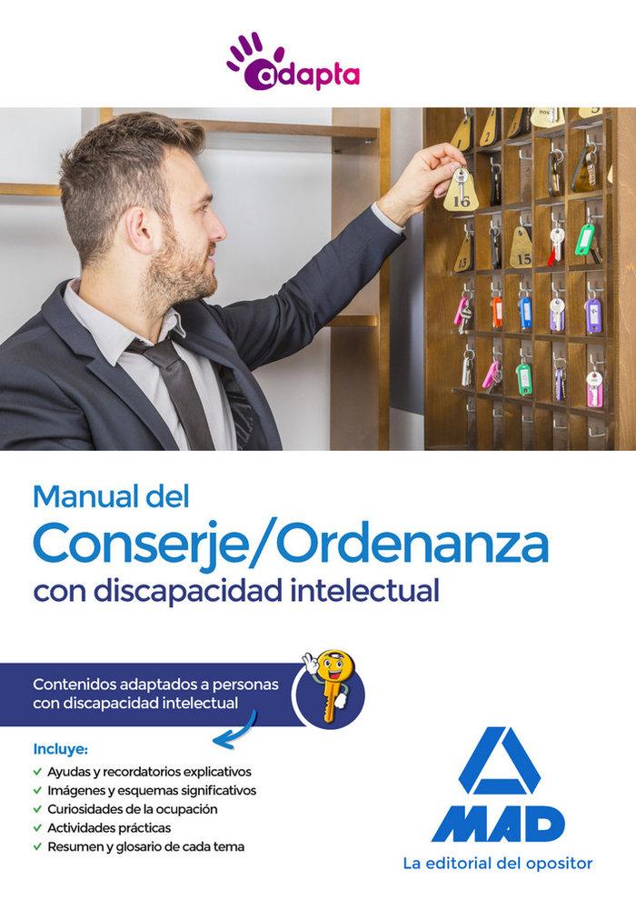 Manual del conserje ordenanza con discapacidad intelectual