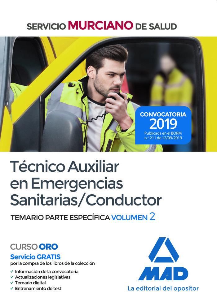 Tecnico auxiliar emergencias sanitarias conductor vol 2