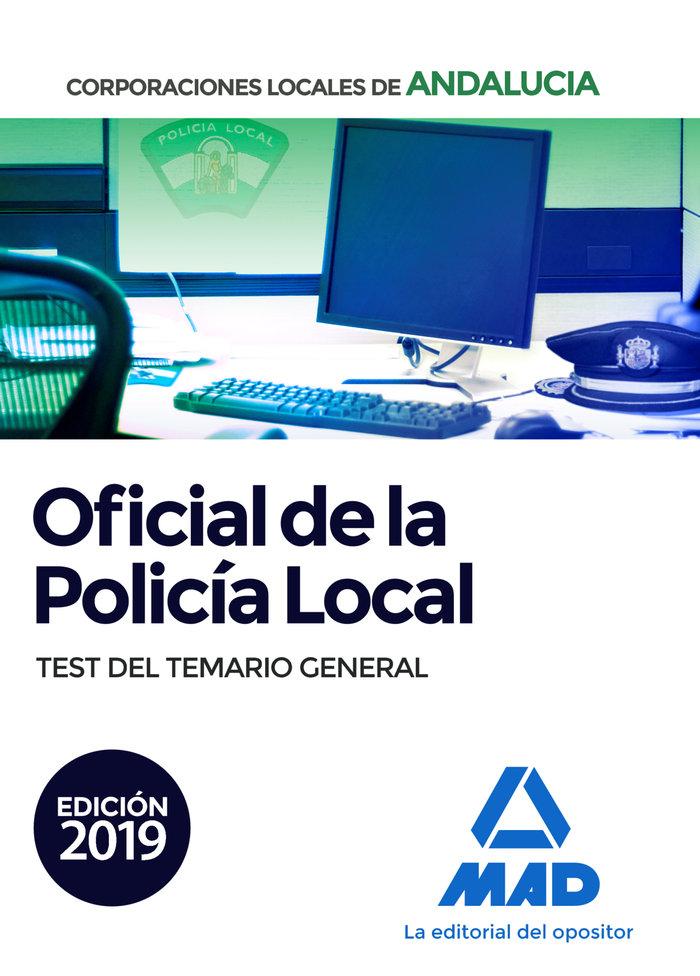 Oficial policia local andalucia test del temario