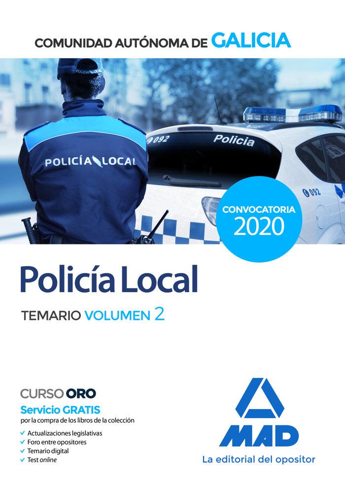 Policia local galicia temario 2