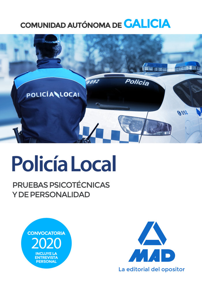 Policia local pruebas psicotecnicas y de personalidad