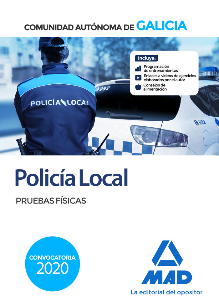 Policia local pruebas fisicas