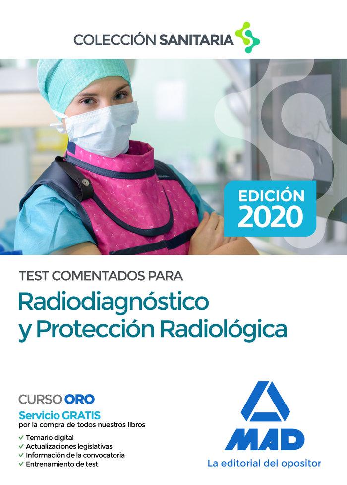 Test comentados para radiodiagnostico y proteccion radiolog