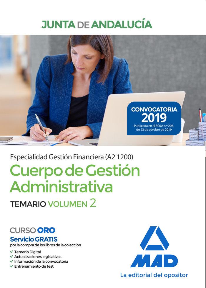 Cuerpo gestion administrativa especialidad gestion vol 2