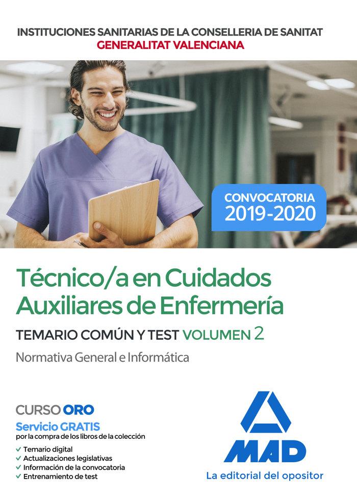 Tecnico/a cuidado auxiliar enfermeria instituciones vol 2