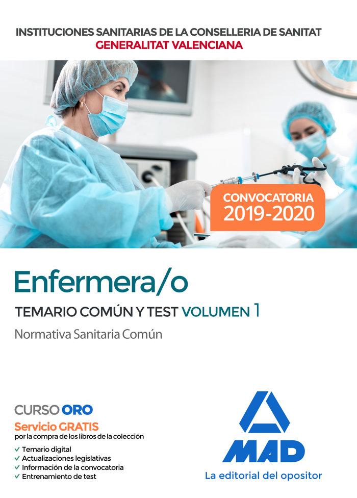 Enfermero/a institucion sanitaria conselleria valencia 1
