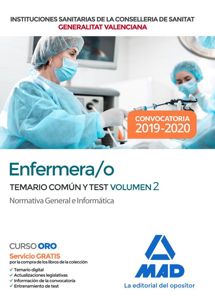 Enfermero/a institucion sanitaria conselleria valencia 2