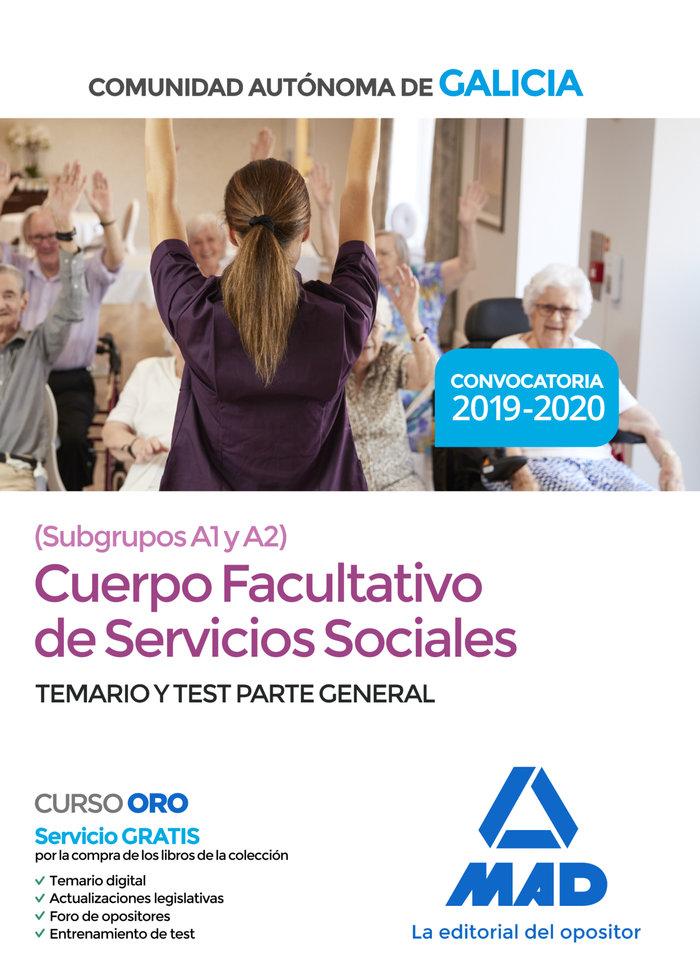 Cuerpo sociales grado medio xunta galicia temario test