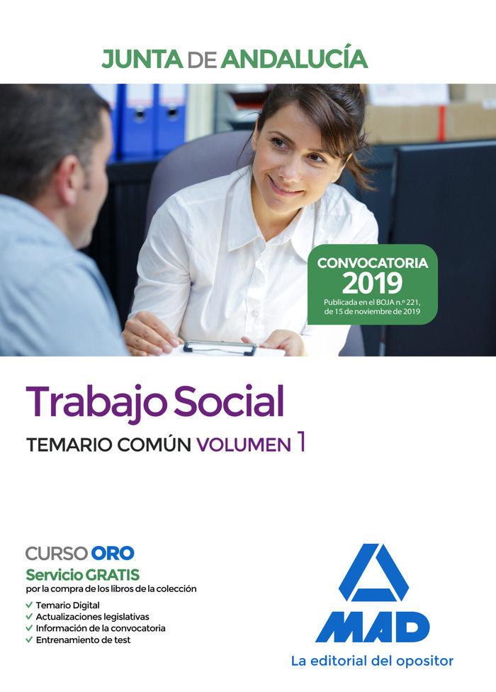 Trabajo social junta andalucia temario comun volumen 1