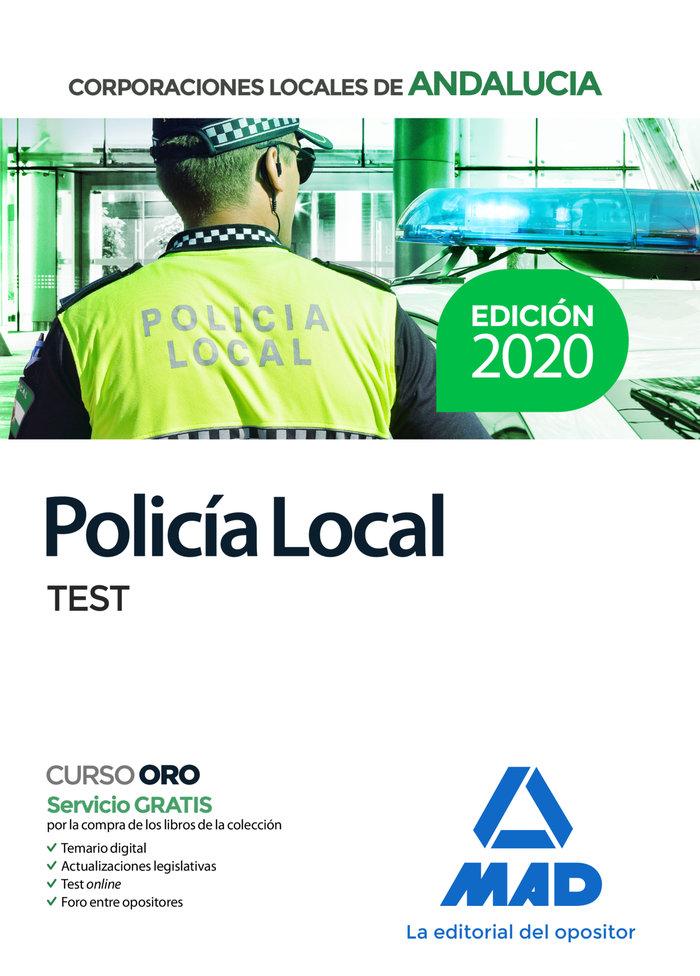 Policia local de andalucia test