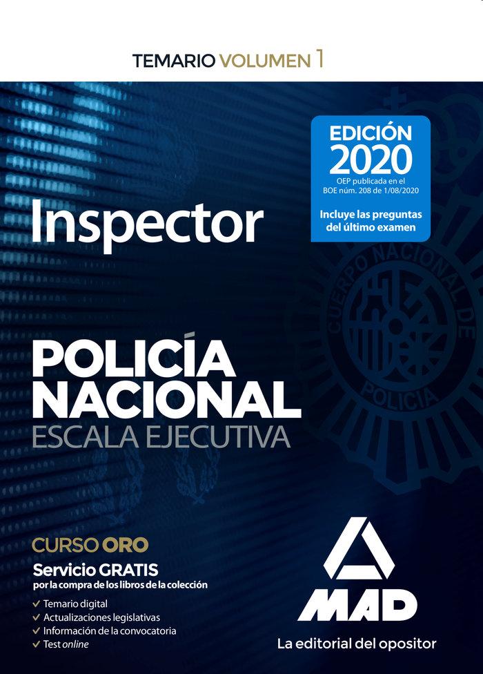 Inspector de policia nacional temario volumen 1