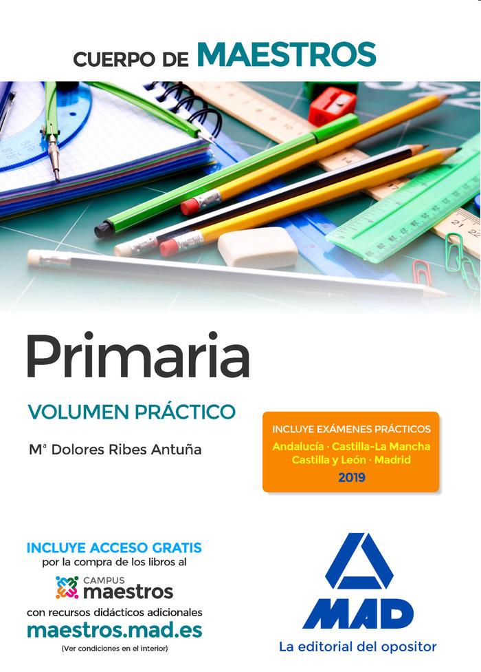 Cuerpo de maestros primaria. volumen practico