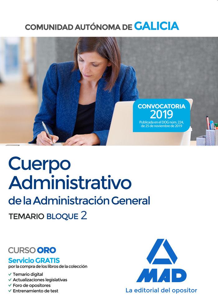 Cuerpo administrativo de la administracion general de la com