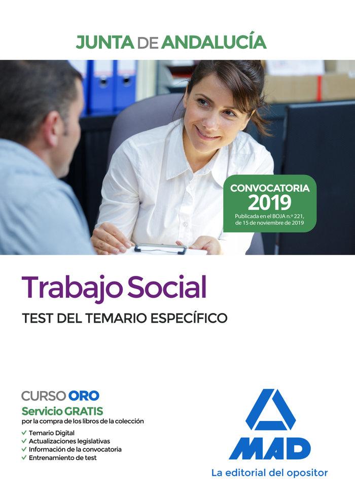 Trabajo social de la junta de andalucia