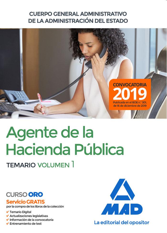 Agente hacienda publica cuerpo general administrativo vol 1
