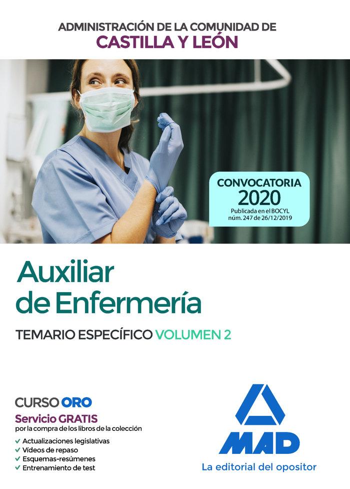 Auxiliar enfermeria castilla leon temario vol 2