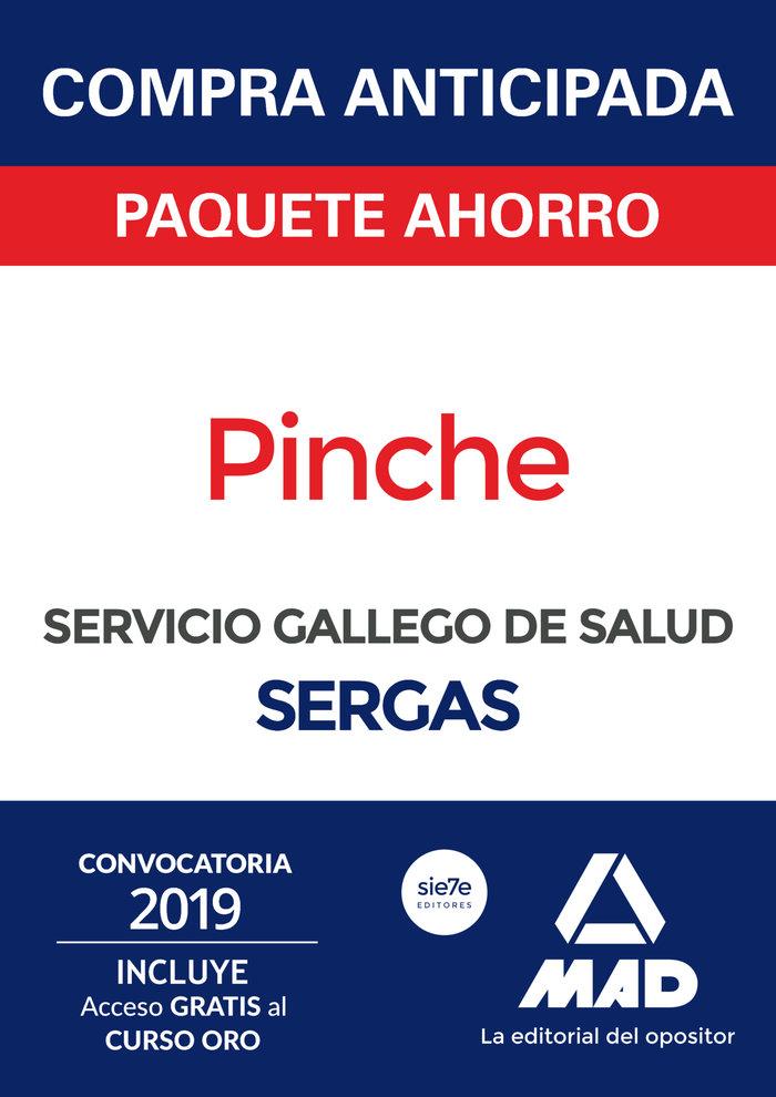 Paquete ahorro pinche del servicio gallego salud