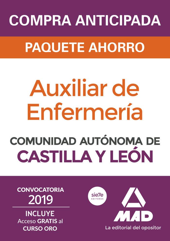 Paquete ahorro auxiliar enfermeria castilla y leon 2019